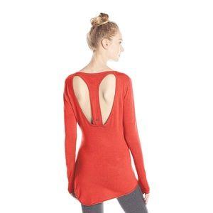 Ladies SOYBU yoga wear Yvette sweater tunic XL new